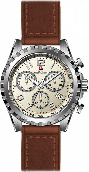 Мужские часы Swiss Mountaineer SM2011 женские часы swiss mountaineer sm1512