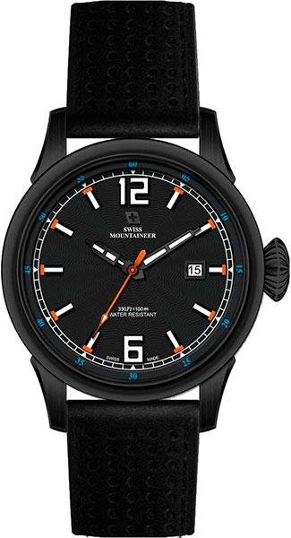 Мужские часы Swiss Mountaineer SM2031 swiss kubik шкатулка для часов swiss kubik sk08 cv003 wp