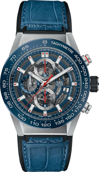 Швейцарские механические наручные часы TAG Heuer CAR201T.FC6406 с хронографом
