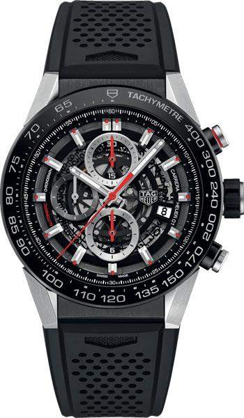 Фото «Мужские швейцарские механические наручные часы TAG Heuer CAR2A1Z.FT6044 с хронографом»