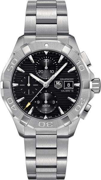 Фото «Швейцарские механические наручные часы TAG Heuer CAY2110.BA0925 с хронографом»