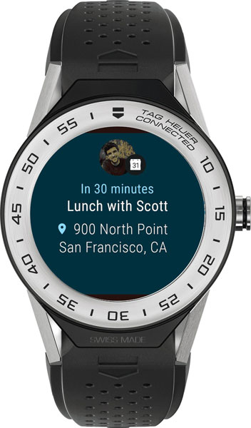 Фото «Швейцарские титановые наручные часы TAG Heuer SBF818001.11FT8031»
