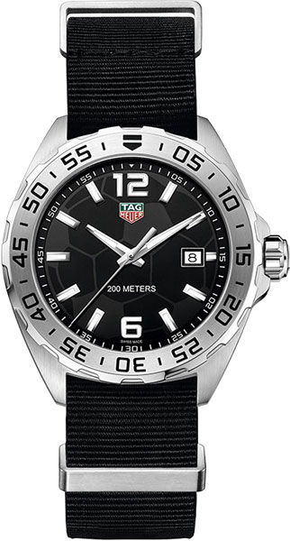 Мужские часы TAG Heuer WAZ1015.FC8198 оправа для очков taigehaoya 100% tag heuer th8108