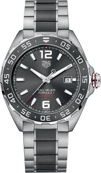 Мужские часы TAG Heuer WAZ2011.BA0843 часы tag heuer tag heuer cav518b fc6237