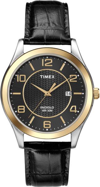 Мужские часы Timex T2P450 timex часы timex t2p450 коллекция classics