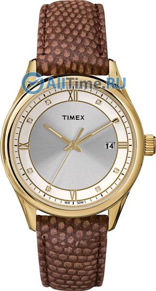 Купить Наручные часы T2P557  Женские наручные часы в коллекции Classics Timex