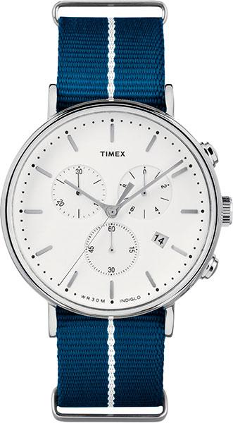 Мужские часы Timex TW2R27000 timex часы timex tw2r27000 коллекция weekender