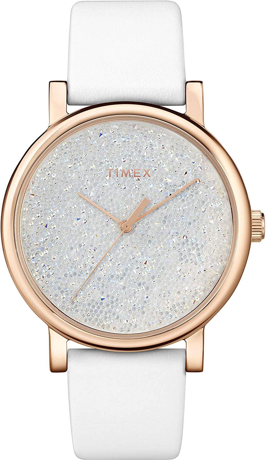 Женские часы в коллекции Crystal Opulence Женские часы Timex TW2R95000RY фото