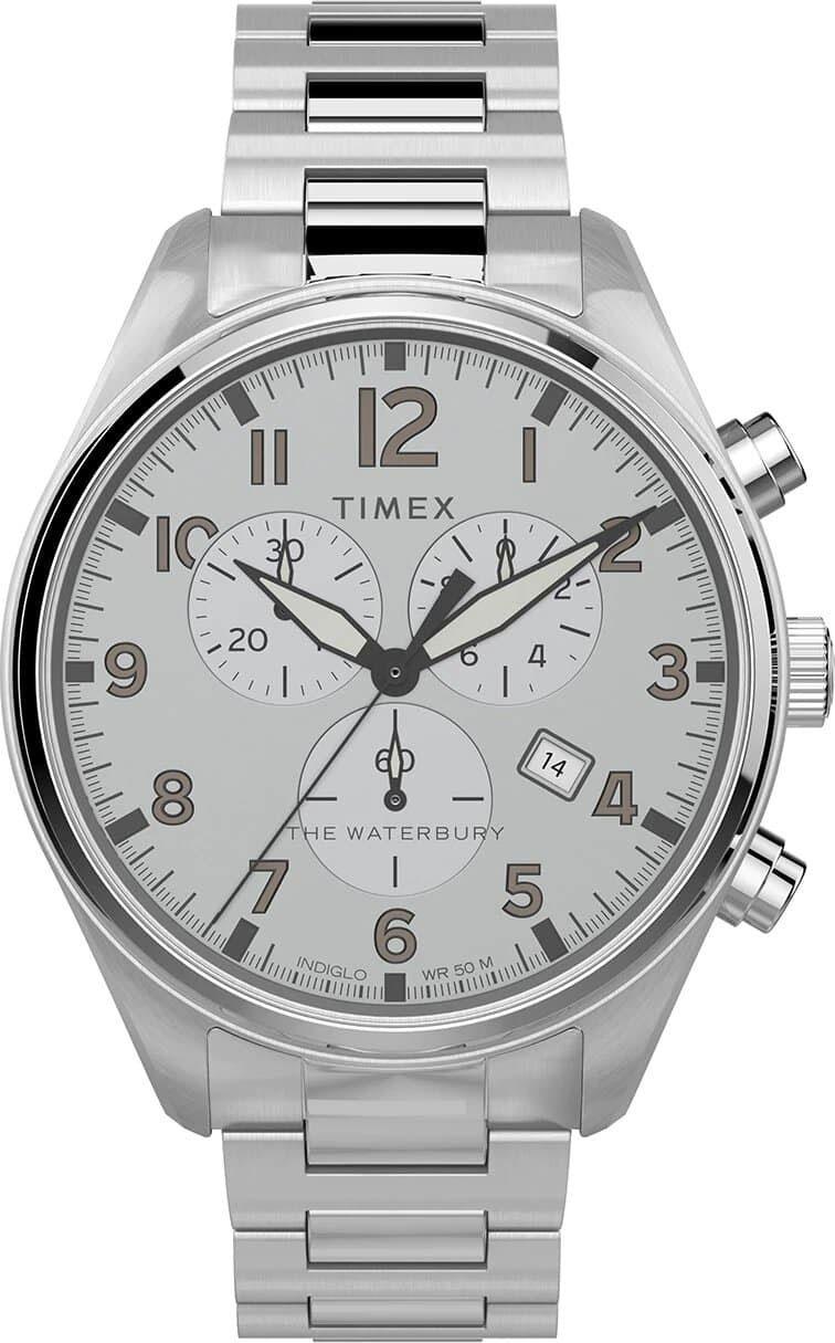 Мужские часы в коллекции Waterbury Мужские часы Timex TW2T70400VN фото