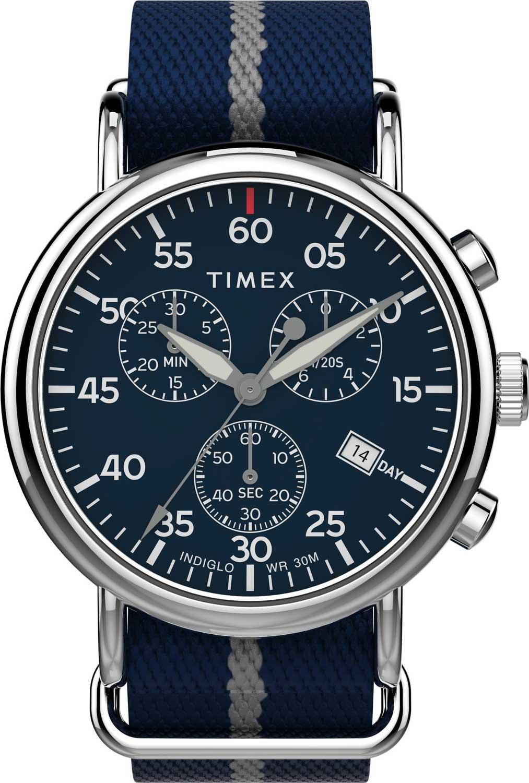 Фото - Мужские часы Timex TW2T73800VN часы опаздывать нельзя