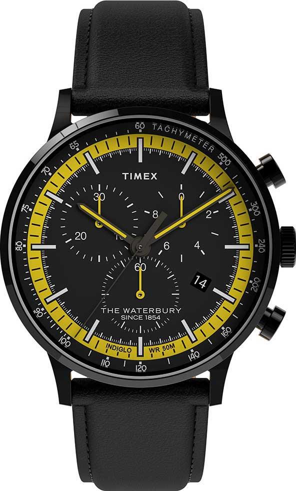 Мужские часы в коллекции Waterbury Мужские часы Timex TW2U04800VN фото