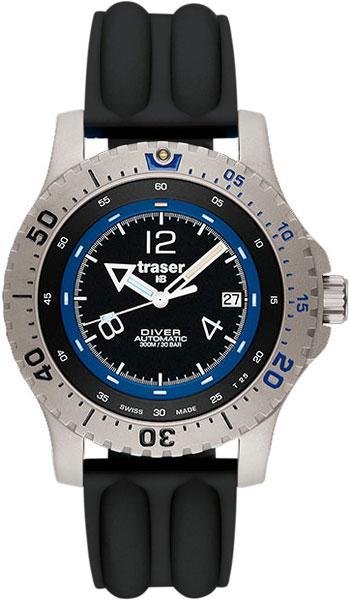 Мужские наручные швейцарские часы в коллекции Дайверские Traser AllTime.RU 35800.000