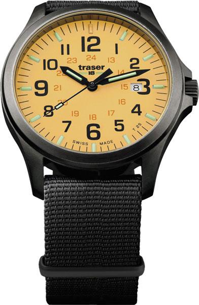 Швейцарские мужские часы в коллекции Профессиональные Мужские часы Traser TR_107433 фото