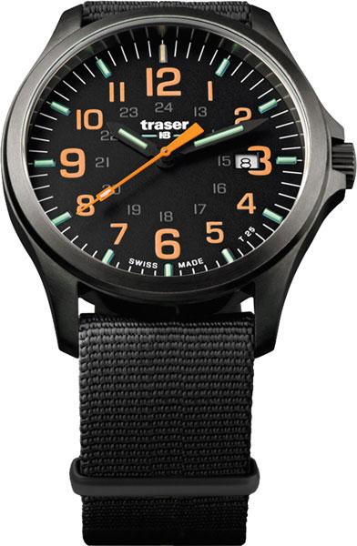 Швейцарские мужские часы в коллекции Профессиональные Мужские часы Traser TR_107873 фото