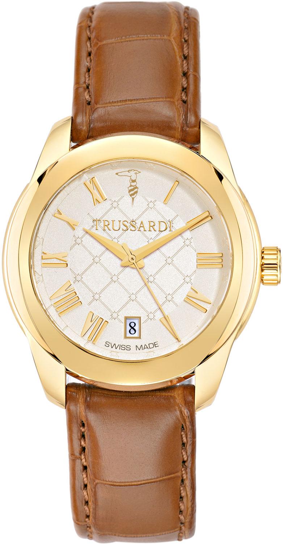 Фото - Женские часы Trussardi R2451100502 мужские часы trussardi r2471621002