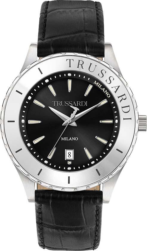 Фото - Мужские часы Trussardi R2451143001 мужские часы trussardi r2471621002