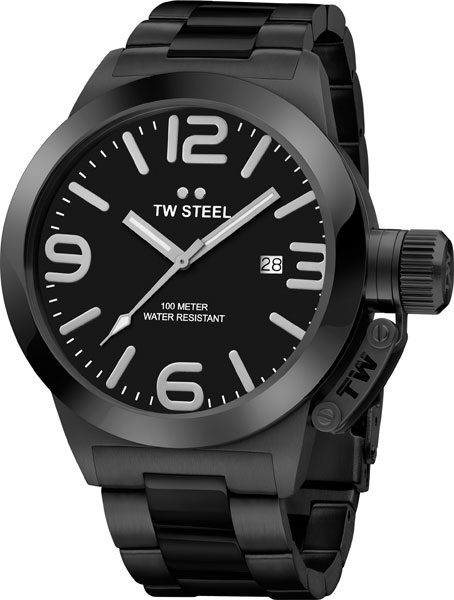 Мужские часы TW STEEL CB212 2016 hight quality 316l stainless steel watch clasp 18mm silver