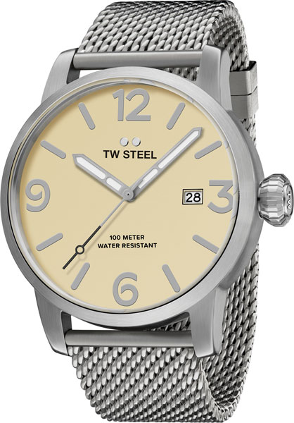 Мужские часы TW STEEL MB1 2016 hight quality 316l stainless steel watch clasp 18mm silver