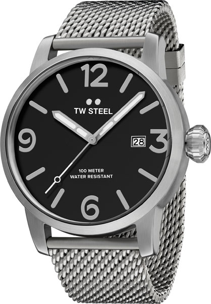 Мужские часы TW STEEL MB12 2016 hight quality 316l stainless steel watch clasp 18mm silver