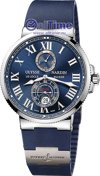 Мужские наручные швейцарские часы Ulysse Nardin 263-67-3.43.