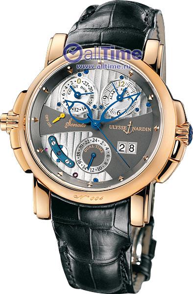 Мужские наручные золотые часы Ulysse Nardin