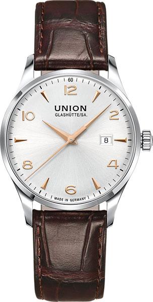 Мужские часы Union Glashütte/SA. D0054071603701 часы настенные union hotel