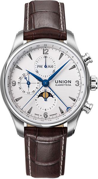 Мужские часы Union Glashütte/SA. D0094251601700 часы настенные union hotel
