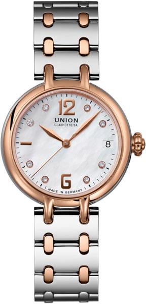 Женские часы Union Glashütte/SA. D9012074411601 часы настенные union hotel