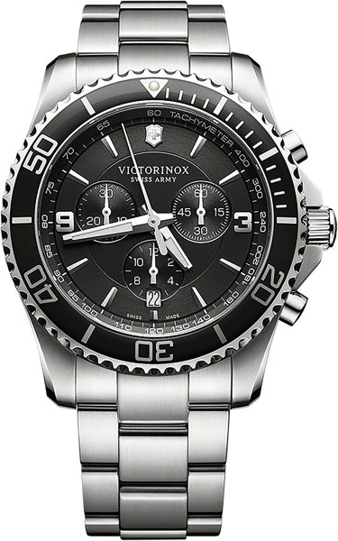 Мужские часы Victorinox 241695 как закалялась сталь
