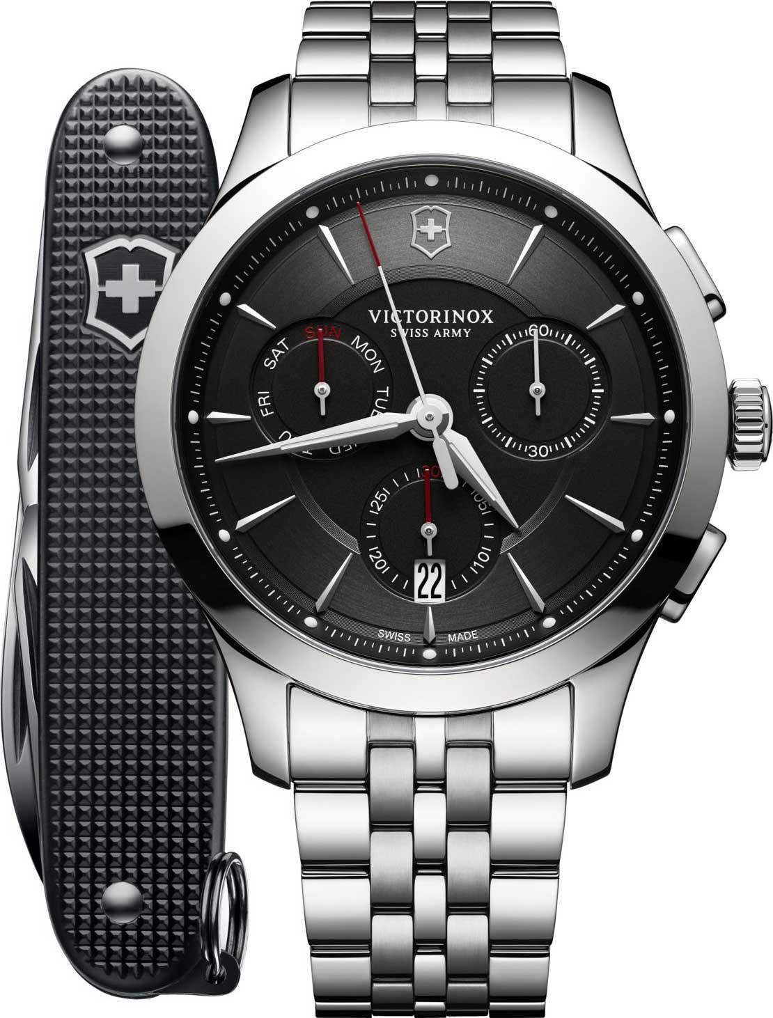 Швейцарские мужские часы в коллекции Alliance Мужские часы Victorinox 241745.1 фото