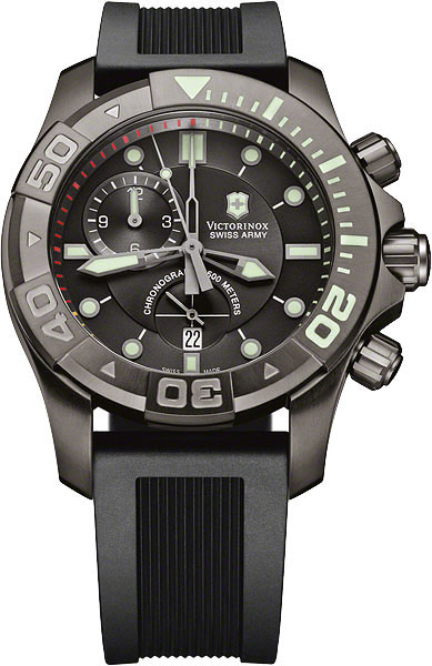 Мужские наручные швейцарские часы в коллекции Professional Victorinox AllTime.RU 58640.000