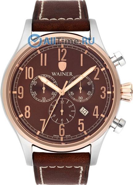 Купить Наручные часы WA.10666-B  Мужские наручные швейцарские часы в коллекции Wall Street Wainer