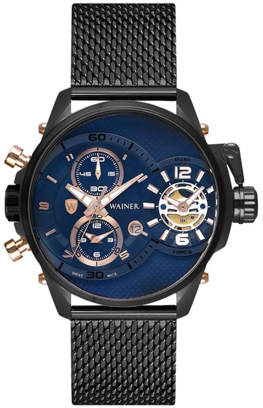 цена Мужские часы Wainer WA.10882-C онлайн в 2017 году