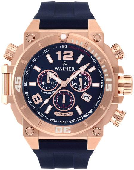 Мужские часы Wainer WA.10920-F мужские часы wainer wa 16777 d