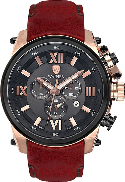 Мужские часы Wainer WA.10991-C мужские часы wainer wa 10920 c