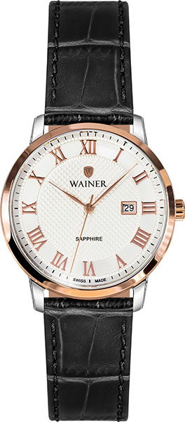цена Женские часы Wainer WA.11288-C онлайн в 2017 году