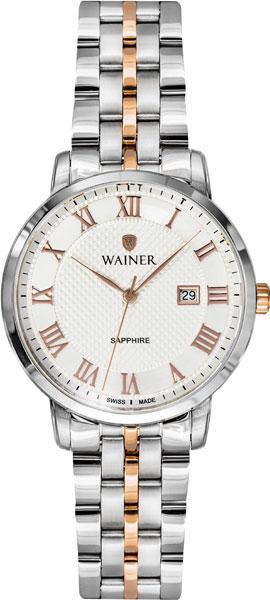 цена Женские часы Wainer WA.11377-C онлайн в 2017 году