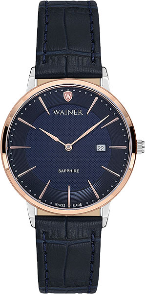 цена Женские часы Wainer WA.11433-B онлайн в 2017 году