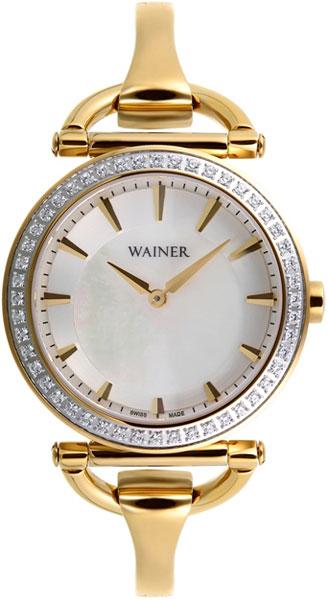 цена Женские часы Wainer WA.11956-A онлайн в 2017 году