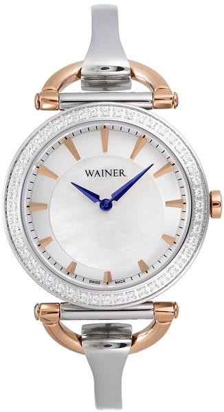 цена Женские часы Wainer WA.11956-C онлайн в 2017 году