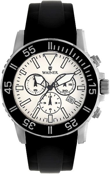 лучшая цена Мужские часы Wainer WA.12000-D
