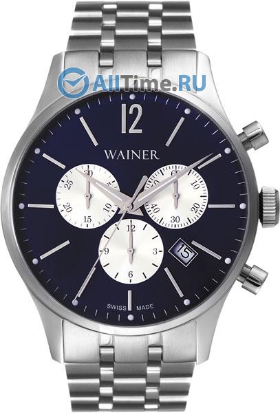 Купить Наручные часы WA.12528-A  Мужские наручные швейцарские часы в коллекции Wall Street Wainer
