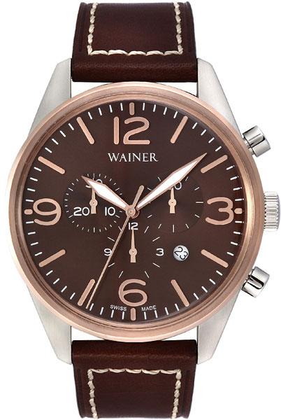 Мужские наручные швейцарские часы в коллекции Wall Street Wainer AllTime.RU 19940.000
