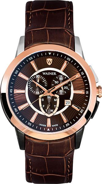 лучшая цена Мужские часы Wainer WA.16571-D