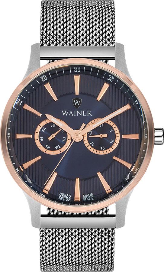 лучшая цена Мужские часы Wainer WA.17895-D