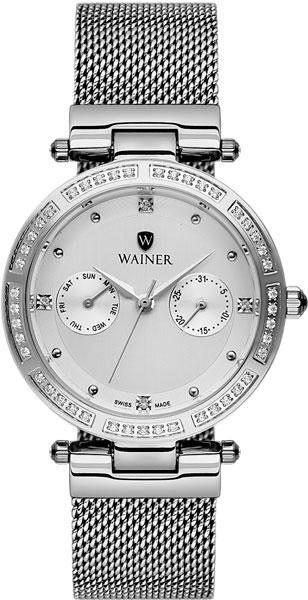 цена Женские часы Wainer WA.18755-D онлайн в 2017 году
