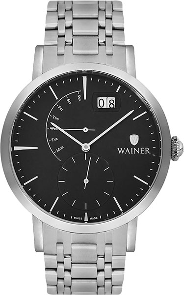Мужские часы Wainer WA.18881-A 2017 aluminum power amplifier chassis home audio amplifier case size 245 180 259mm