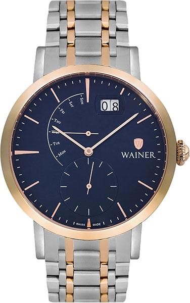 цена Мужские часы Wainer WA.18881-B онлайн в 2017 году