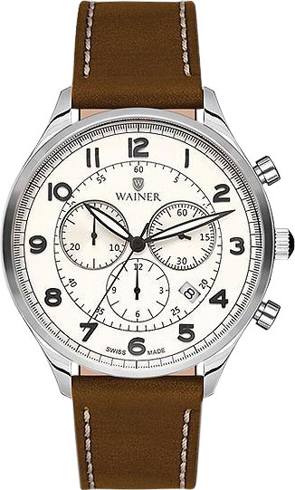 цена Мужские часы Wainer WA.19498-A онлайн в 2017 году