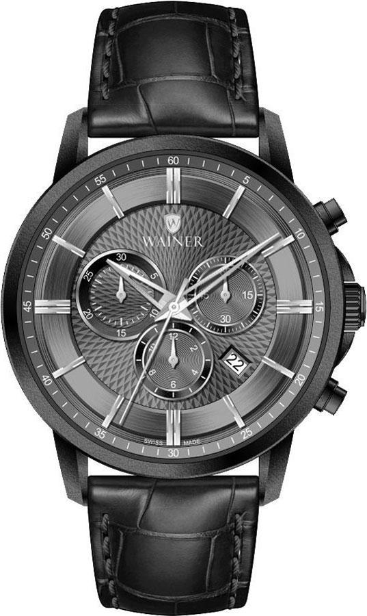 Швейцарские мужские часы в коллекции Wall Street Мужские часы Wainer WA.19595-B фото